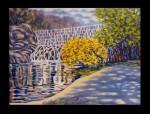 Stuyesant Falls reflections